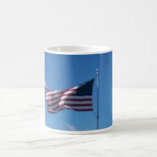 United States Of America's Flag. Basic White Mug