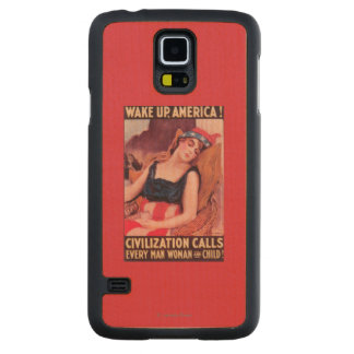 United States of AmericaWar II Promotional Carved Maple Galaxy S5 Case
