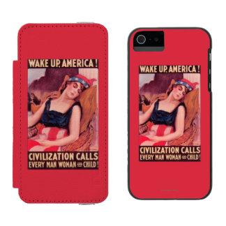 United States of AmericaWar II Promotional Incipio Watson™ iPhone 5 Wallet Case