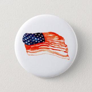 United States of Bacon 6 Cm Round Badge