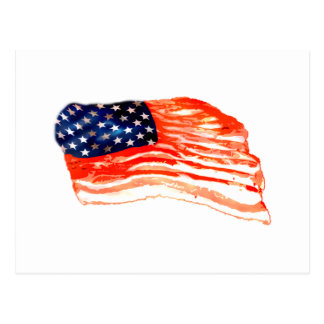United States of Bacon Postcard