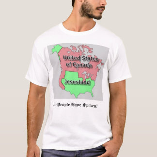 United States of Canada and Jesusland T-Shirt