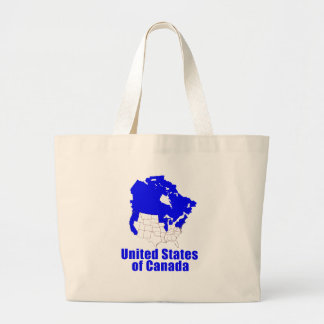 United States of Canada Canvas Bags