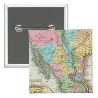 United States Of Mexico 15 Cm Square Badge