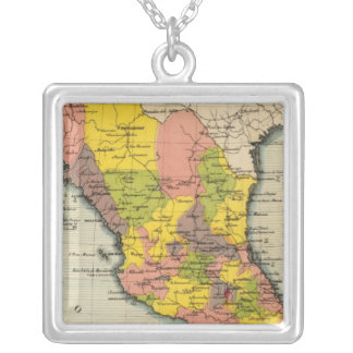 United States of Mexico 2 Silver Plated Necklace
