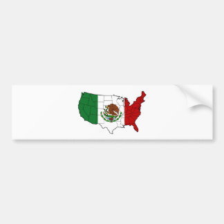 United States of Mexico Bumper Sticker