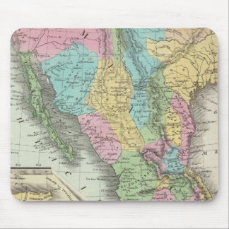 United States Of Mexico Mouse Mat
