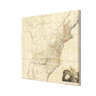 United States Of North America 2 Stretched Canvas Print