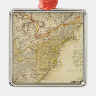 United States of North America Atlas Map Christmas Ornament