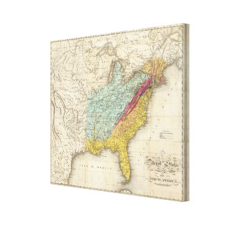 United States of North America Canvas Print
