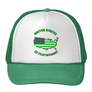 United States of Plutocracy Trucker Hat