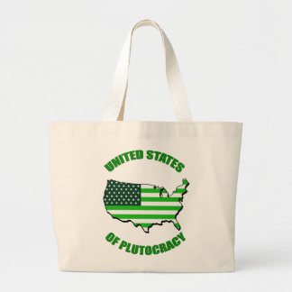 United States of Plutocracy Canvas Bag