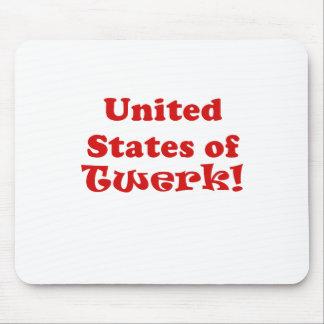 United States of Twerk Mouse Pad