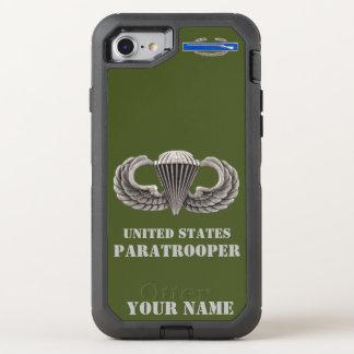 UNITED STATES PARATROOPER OtterBox DEFENDER iPhone 7 CASE
