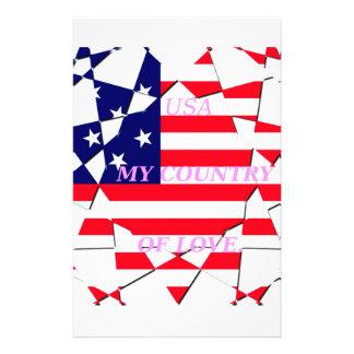United States Personalised Stationery