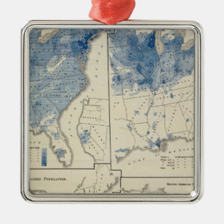 United States population census Christmas Ornament