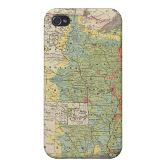 United States Population Density, 1890 Case For The iPhone 4
