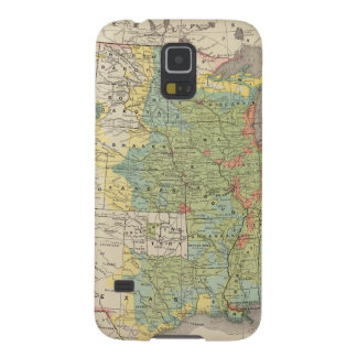 United States Population Density, 1890 Galaxy S5 Cover