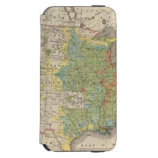 United States Population Density, 1890 Incipio Watson™ iPhone 6 Wallet Case