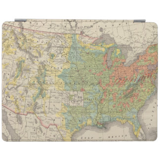 United States Population Density, 1890 iPad Cover