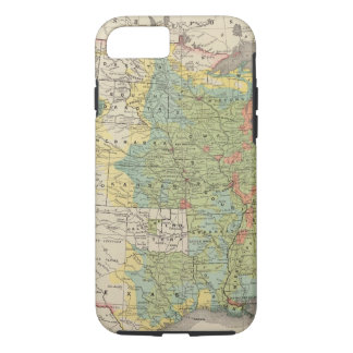 United States Population Density, 1890 iPhone 8/7 Case