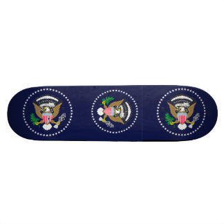 United States Presidential Skate Board Deck