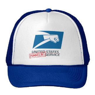 United States Pummeling Service Cap