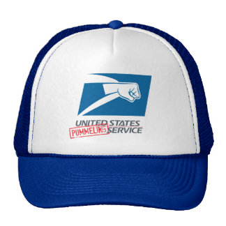 United States Pummeling Service Mesh Hats