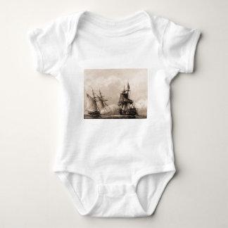 United States Schooner Enterprise Baby Bodysuit
