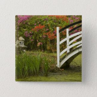 United States; South Carolina; Charleston; 2 15 Cm Square Badge