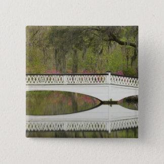 United States; South Carolina; Charleston; 3 15 Cm Square Badge