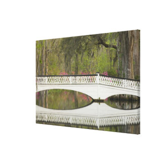 United States; South Carolina; Charleston; 3 Canvas Print