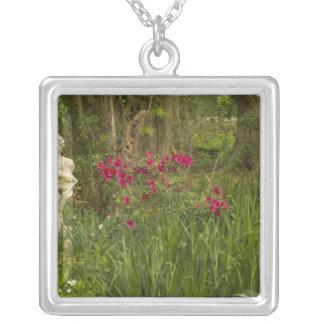United States; South Carolina; Charleston; 4 Silver Plated Necklace