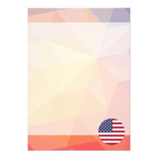 United States Souvenir 13 Cm X 18 Cm Invitation Card