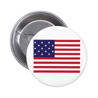 United States Star Spangled Banner Flag Buttons