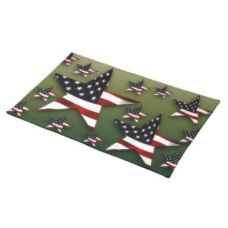 United States stars flag Placemat