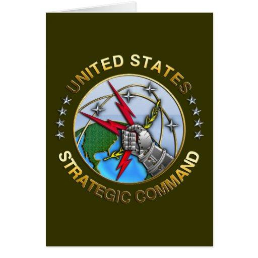 United States Strategic Command Greeting Card
