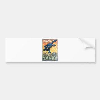United States Tank Corps. circa 1918 Bumper Sticker