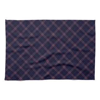 United States Tartan Designed Print (USA) Hand Towel