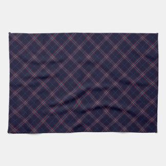 United States Tartan Designed Print (USA) Tea Towel