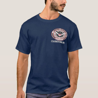 United States Tea Party Seal T-Shirt