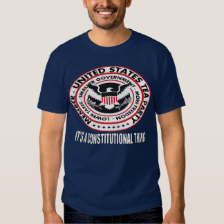 United States Tea Party Seal T-shirts