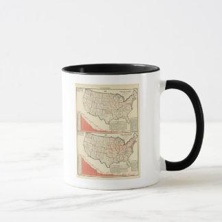 United States Thematic maps Mug