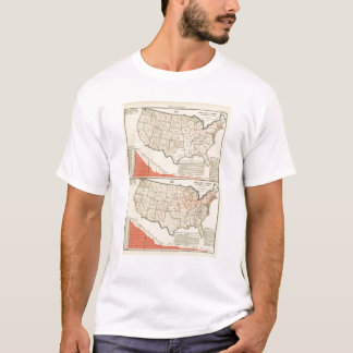 United States Thematic maps T-Shirt