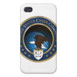 United States US Cyber Command iphone 4 case