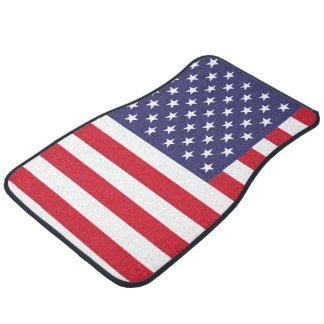 United States USA American Flag Car Mat