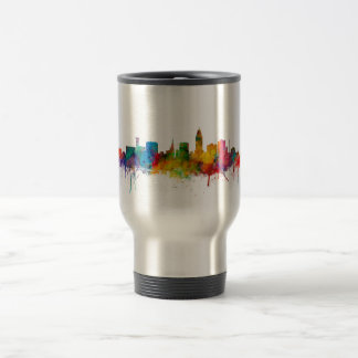 """united states"", usa, ""city skyline"", watercolour, travel mug"