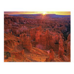 United States, Utah, Bryce Canyon National Park. Postcard
