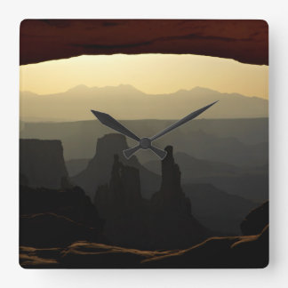 United States, Utah, Canyonlands National Park 3 Wall Clocks