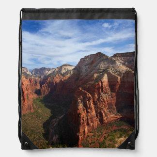 United States, Utah, Zion National Park Drawstring Bag